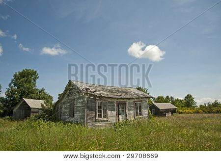 Fading Homestead in Upstate New York