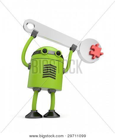 Robot at work