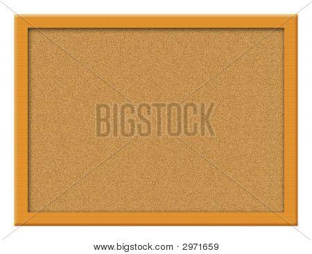Cork Board Illustration