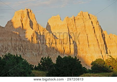 Sunset On A Badlands Rdige
