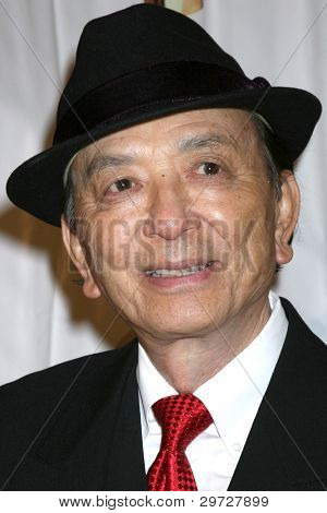LOS ANGELES - FEB 4:  James Hong  arrives at the 39th Annual Annie Awards at Royce Hall at UCLA on February 4, 2012 in Westwood, CA