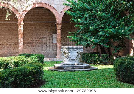Oratory of St.Anna. Ferrara. Emilia-Romagna. Italy.
