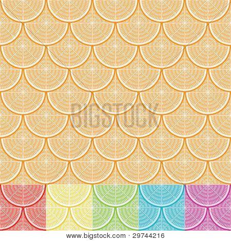 Orange Semaless Pattern