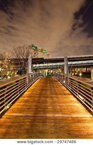 Bridge on Bayou Walk