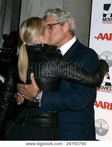 LOS ANGELES - FEB 6:  Sharon Stone, Michael Nouri arrives at the AARP's 11th Annual Movies For Gownups Awards at Beverly Wilshire Hotel on February 6, 2012 in Beverly Hills, CA