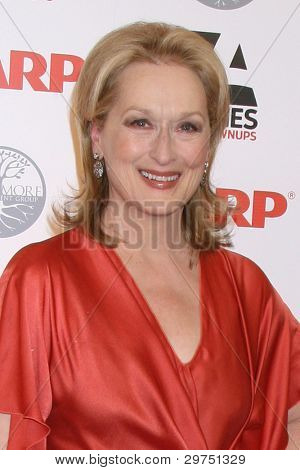 LOS ANGELES - FEB 6:  Meryl Streep arrives at the AARP's 11th Annual Movies For Gownups Awards at Beverly Wilshire Hotel on February 6, 2012 in Beverly Hills, CA