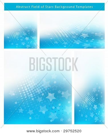 Abstract Graphic Background Template set