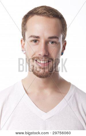 Good Looking Man Portrait