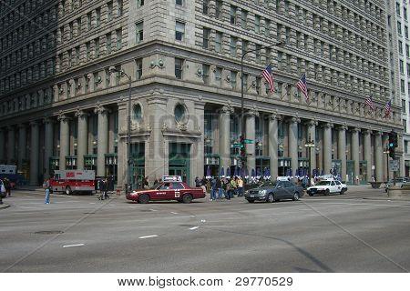 Chicago Straße Ecke