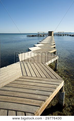 Pier High Angle