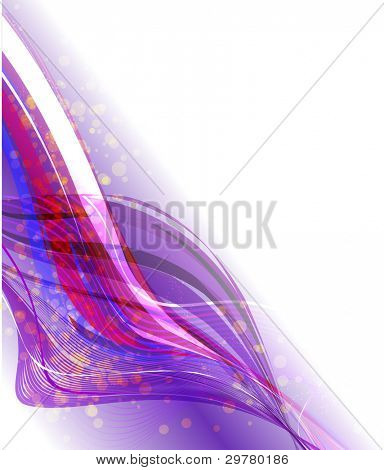 Abstract dark background with lighting effect. Vector