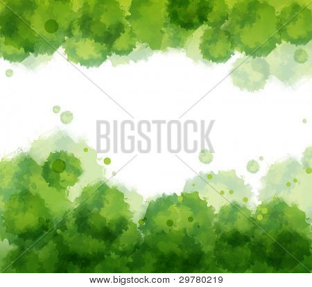 Watercolor background. Vector.