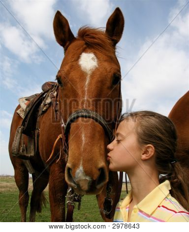A Kiss For My Quarter Horse