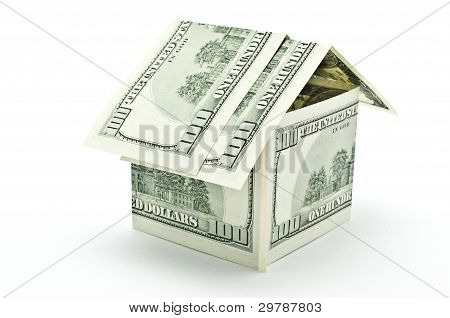 100 Dollars Money House