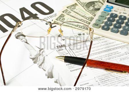 Vereinigten Staaten Steuerformular