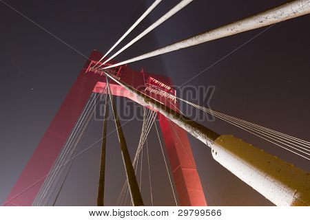 Willemsbridge, Rotterdam, the Netherlands