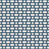 Vector Minimalist Seamless Pattern. Simple Geometric Background With Rounded Lines, Circles, Dots. A poster