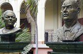 stock photo of lolita  - statue Lolita Soreano and Julian Guerrero National Palace and Culture Museum Palacio Nacional Managua Nicaragua - JPG