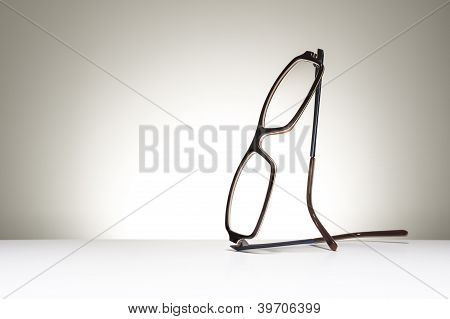 Pair Of Spectacles With Copy Space