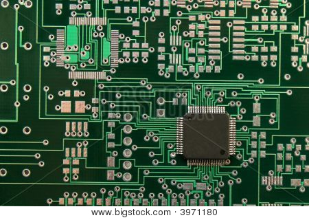 Microchip And Pcb
