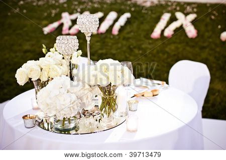 Wedding glasses set