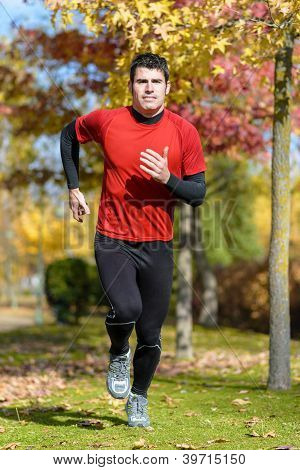 Runner In Park