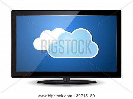 Cloud Lcd Tv Monitor