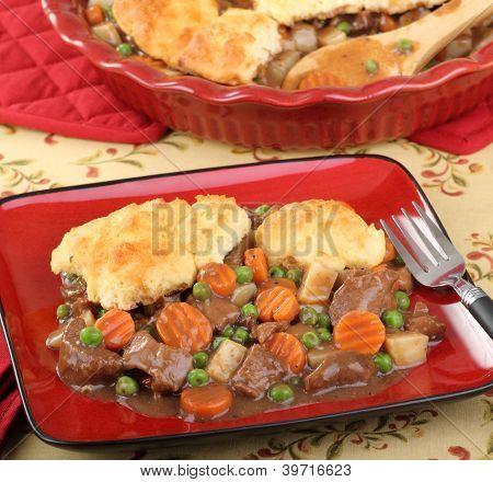 Beef Pot Pie Meal