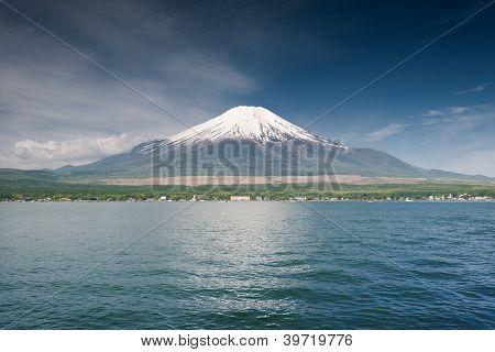 Dramatic Mount Fuji