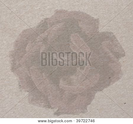 Vintage Paper Texture With Rose