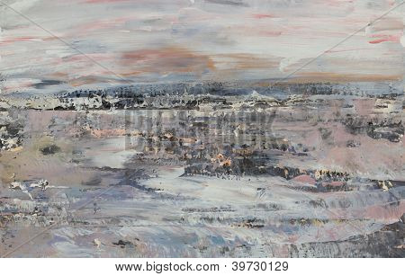 Winter lanscape