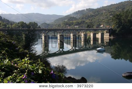 Bridge, Geres National Park, Portugal