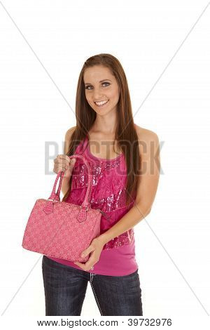 Smile Hold On To Purse