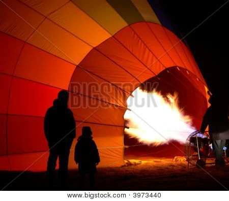 Inflating Balloon