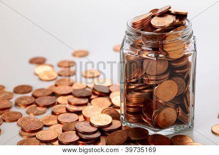 Moneda de céntimos de euro