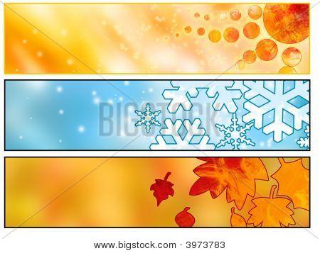 Web Seasonals Banners