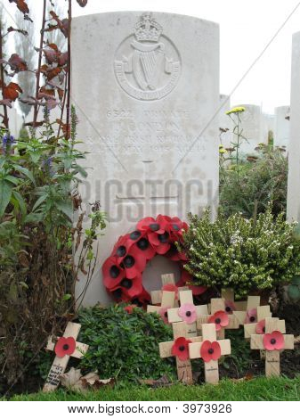 Gravestone From First World War, John Condon