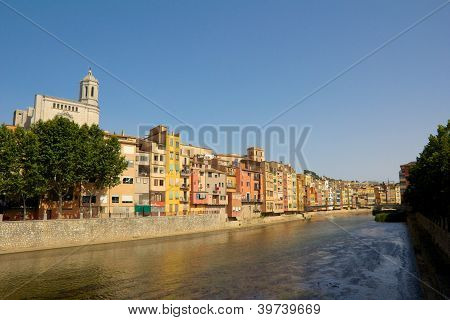 Girona Riverside Cathedral