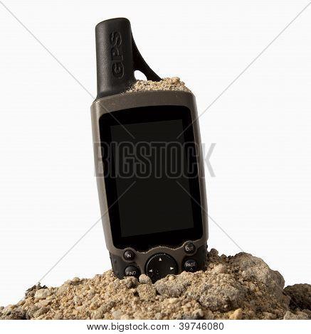 GPS on a sand