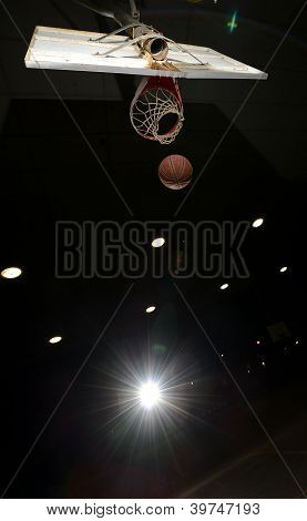Basketball Hoop And Ball