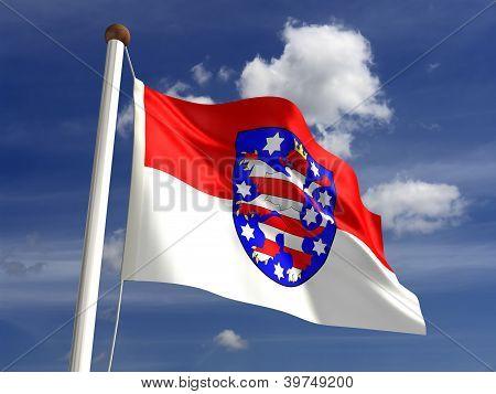 Thuringia Flag Germany