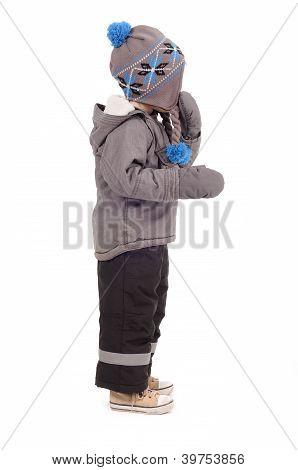 Niño invierno