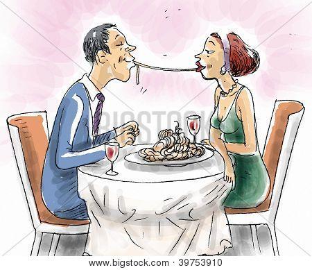 Sharing Spaghetti