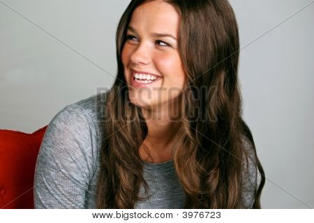 Laughing Teen