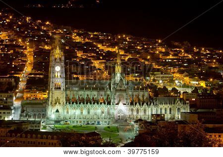 Cathedral of Quito, Ecuador.
