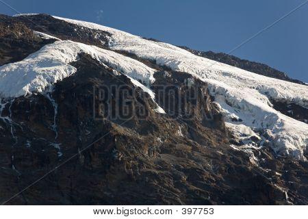 Kilimanjaro Barranco Hut Camp Summit View