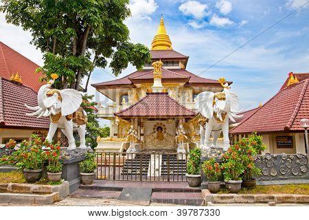 Protestant Cristian church Jemaat Bukit Doa in Nusa Dua, Bali, Idonesia