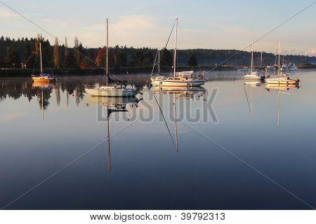 Nicomekl River Anchorage, British Columbia