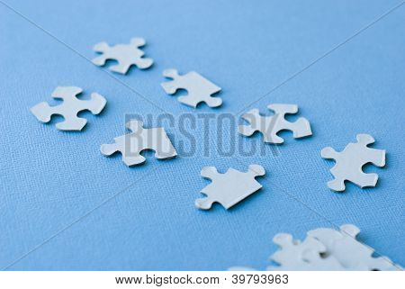 puzzle organized