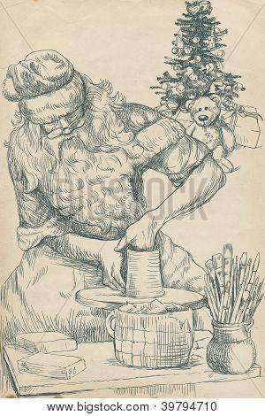 Santa Claus - potter